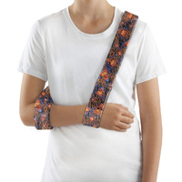 Collar & Cuff Arm Sling [Flames & Skulls]