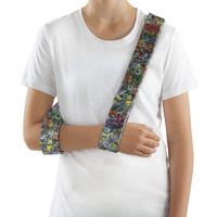 Collar & Cuff Arm Sling [Graffiti]